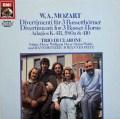 トリオ・ディ・クラローネのモーツァルト/管楽のためのディヴェルティメントほか   独EMI  2932