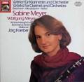 マイヤー兄妹のウェーバー/クラリネット五重奏曲ほか 独EMI 2932 LP レコード