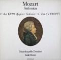 デイヴィスのモーツァルト/交響曲第41番「ジュピター」ほか 独ETERNA 3019 LP レコード