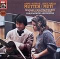 ムター&ムーティのモーツァルト/ヴァイオリン協奏曲第2&4番 独EMI  2932 LP レコード