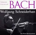 シュナイダーハンのバッハ/ヴァイオリン協奏曲第1&2番 独CH 2930 LP レコード