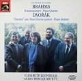 アルバン・ベルク四重奏団&レオンスカヤのブラームス/ピアノ五重奏曲 独EMI  3019 LP レコード