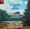 【オリジナル盤】 イダ・ヘンデル&ベルグルントのシベリウス/ヴァイオリン協奏曲ほか 英EMI 3019 LP レコード