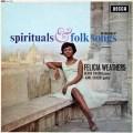 ウェザースの霊歌とコダーイ/ハンガリー民謡集  英DECCA 3036 LP レコード