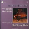 スコダのベートーヴェン/ピアノソナタ第28&30番 仏ASTREE 2616 LP レコード