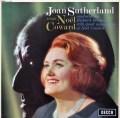 サザーランド&ボニングのノエル・カワード作品集 英DECCA 3036 LP レコード