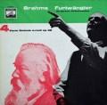 フルトヴェングラーのブラームス/交響曲第4番 独EMI  2912 LP レコード