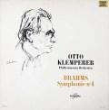 クレンペラーのブラームス/交響曲第4番 仏Columbia 3019 LP レコード