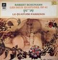 パレナン四重奏団のシューマン/弦楽四重奏曲第1&2番 仏Columbia 3019 LP レコード