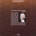 クナッパーツブッシュのブラームス/大学祝典序曲ほか管弦楽曲集 独DECCA 3036 LP レコード