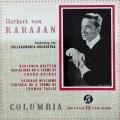 【オリジナル盤】カラヤンのブリテン/「フランク・ブリッジの主題による変奏曲」ほか 英Columbia 3019 LP レコード