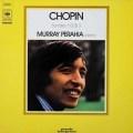 ペライアのショパン/ピアノソナタ第2&3番 独CBS 3036 LP レコード