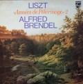 ブレンデルのリスト/巡礼の年第2年イタリア 蘭PHILIPS 3019 LP レコード