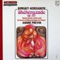 プレヴィンのリムスキー=コルサコフ/交響組曲「シェヘラザード」 仏PHILIPS 3019 LP レコード