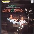 ヘブラー&シェリングのモーツァルト/ヴァイオリンとピアノのためのソナタ第40&41番 仏PHILIPS 3019 LP レコード