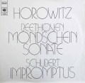 ホロヴィッツのベートーヴェン/「月光」ソナタほか 独CBS 2912 LP レコード