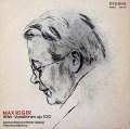 コンヴィチュニーのレーガー/ヒラーの主題による変奏曲とフーガ 独ETERNA 3036 LP レコード