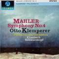 【オリジナル盤】 シュワルツコップ&クレンペラーのマーラー/交響曲第4番 英Columbia 3023 LP レコード