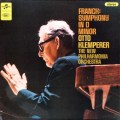【オリジナル盤】 クレンペラーのフランク/交響曲 ニ短調 英Columbia 3023 LP レコード