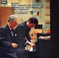 【オリジナル盤】 バレンボイム&クレンペラーのモーツァルト/ピアノ協奏曲第25番ほか 英Columbia 3023 LP レコード