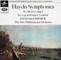 クレンペラーのハイドン/交響曲第88&104番「ロンドン」 英Columbia 3023 LP レコード