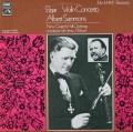 サモンズ&ウッドのエルガー/ヴァイオリン協奏曲 英EMI 3023 LP レコード