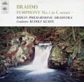 ケンペのブラームス/交響曲第1番 英REGAL(EMI) 3023 LP レコード