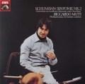 ムーティのシューマン/交響曲第2番ほか 独EMI 3036 LP レコード