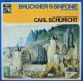 シューリヒトのブルックナー/交響曲第9番 独EMI 3036 LP レコード