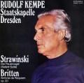 ケンペのストラヴィンスキー/バレエ組曲「火の鳥」 独ETERNA 3023 LP レコード