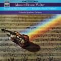ワルターのモーツァルト/交響曲第41番「ジュピター」&第35番「ハフナー」 英CBS 3033 LP レコード