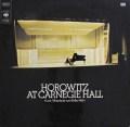 ホロヴィッツの「カーネギー・ホール・リサイタル1965」 英CBS 3033 LP レコード