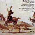 テンシュテットのR.シュトラウス/交響詩「ドン・キホーテ」 独NDR 3033 LP レコード