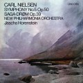 ホーレンシュタインのニールセン/交響曲第5番ほか 英UNICORN 3033 LP レコード