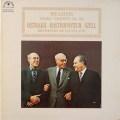 オイストラフ、ロストロポーヴィチ&セルのブラームス/二重協奏曲   仏LE CHANT DU MONDE  2632 LP レコード