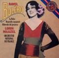 マゼールのラヴェル/「ボレロ」 蘭CBS 2928 LP レコード