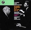 ギーゼキング&カラヤンのベートーヴェン/ピアノ協奏曲第5番「皇帝」 独Columbia 3033 LP レコード
