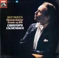 エッシェンバッハのベートーヴェン/ピアノソナタ第29番「ハンマークラヴィーア」 独EMI 3023 LP レコード