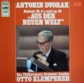 クレンペラーのドヴォルザーク/交響曲第9番「新世界より」 独EMI 2910 LP レコード