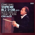マゼールのブラームス/交響曲第2番ほか 独DECCA  2928 LP レコード