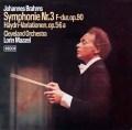 マゼールのブラームス/交響曲第3番ほか 独DECCA  2928 LP レコード