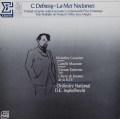 アンゲルブレシュトのドビュッシー/管弦楽曲集 仏ERATO 3036 LP レコード