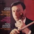 ミルシュタイン&ブルゴスのドヴォルザーク&グラズノフ/ヴァイオリン協奏曲集 仏EMI 3023 LP レコード