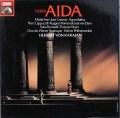 カラヤンのヴェルディ/「アイーダ」  独EMI 2920 LP レコード