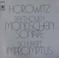 ホロヴィッツのベートーヴェン/「月光」ソナタほか 独CBS 3017 LP レコード