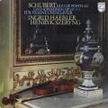 ヘブラー&シェリングのシューベルト/ヴァイオリンソナタ集 蘭PHILIPS  2705 LP レコード