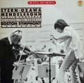 スターン&小澤のメンデルスゾーン/ヴァイオリン協奏曲ほか 独CBS   283442 LP レコード
