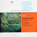 【モノラル】ラスキーヌ&ランパルらのドビュッシー/3つのソナタほか 仏ERATO 3017 LP レコード