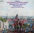 クレンペラーのモーツァルト/交響曲第38番「プラハ」&第39番 独EMI 2928 LP レコード