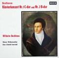 バックハウス&イッセルシュテットのベートーヴェン/ピアノ協奏曲第1&2番 独DECCA 3035 LP レコード
